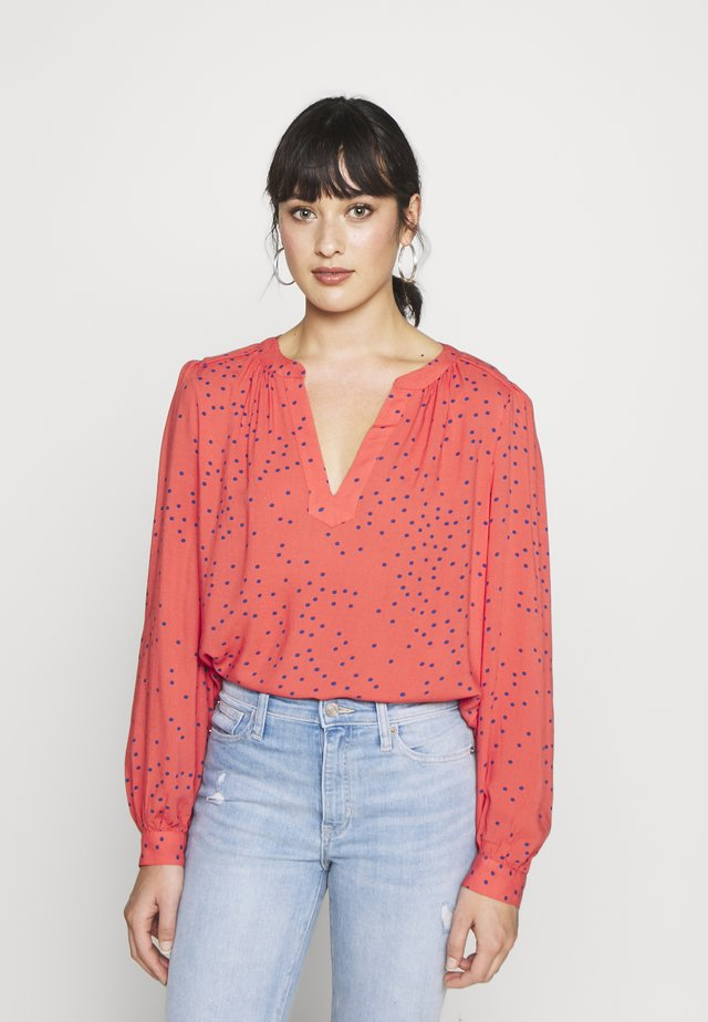 FRAMED ZEN - Blouse - red