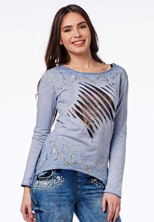 LANGARM - Long sleeved top - blue