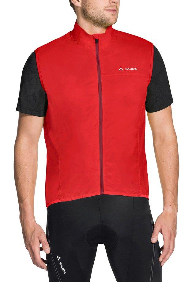 AIR - Waistcoat - mars red