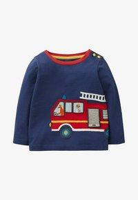 Boden - Sweatshirt - strahlendes blau, feuerwehrauto - 0