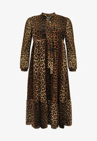 Yoek - Day dress - brown - 0