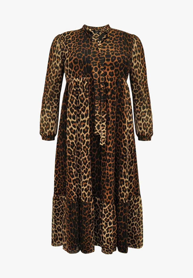 Yoek - Day dress - brown