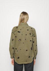 Desigual - Button-down blouse - green - 2