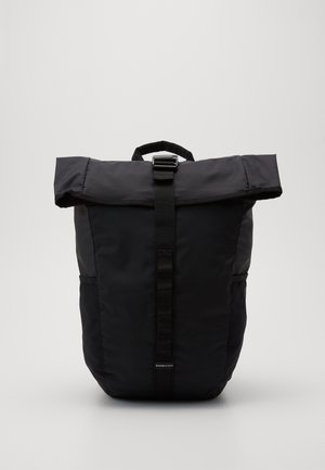 ROLLTOP BACKPACK - Rucksack - black