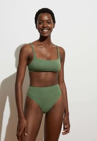 OYSHO - Bikini bottoms - khaki - 1