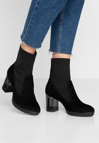 Marcel Ostertag x Tamaris - Classic ankle boots - black - 0