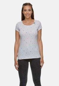 Ragwear - Print T-shirt - white - 0