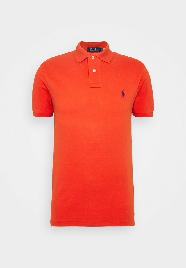 Polo shirt - orangey red