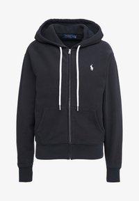 SEASONAL  - Zip-up hoodie - polo black