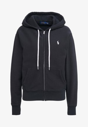 SEASONAL  - Zip-up hoodie - polo black