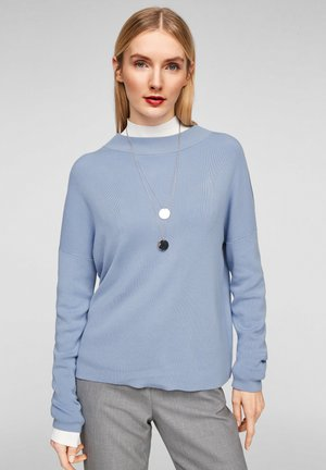 MIT DROPPED SHOULDERS - Jumper - light blue