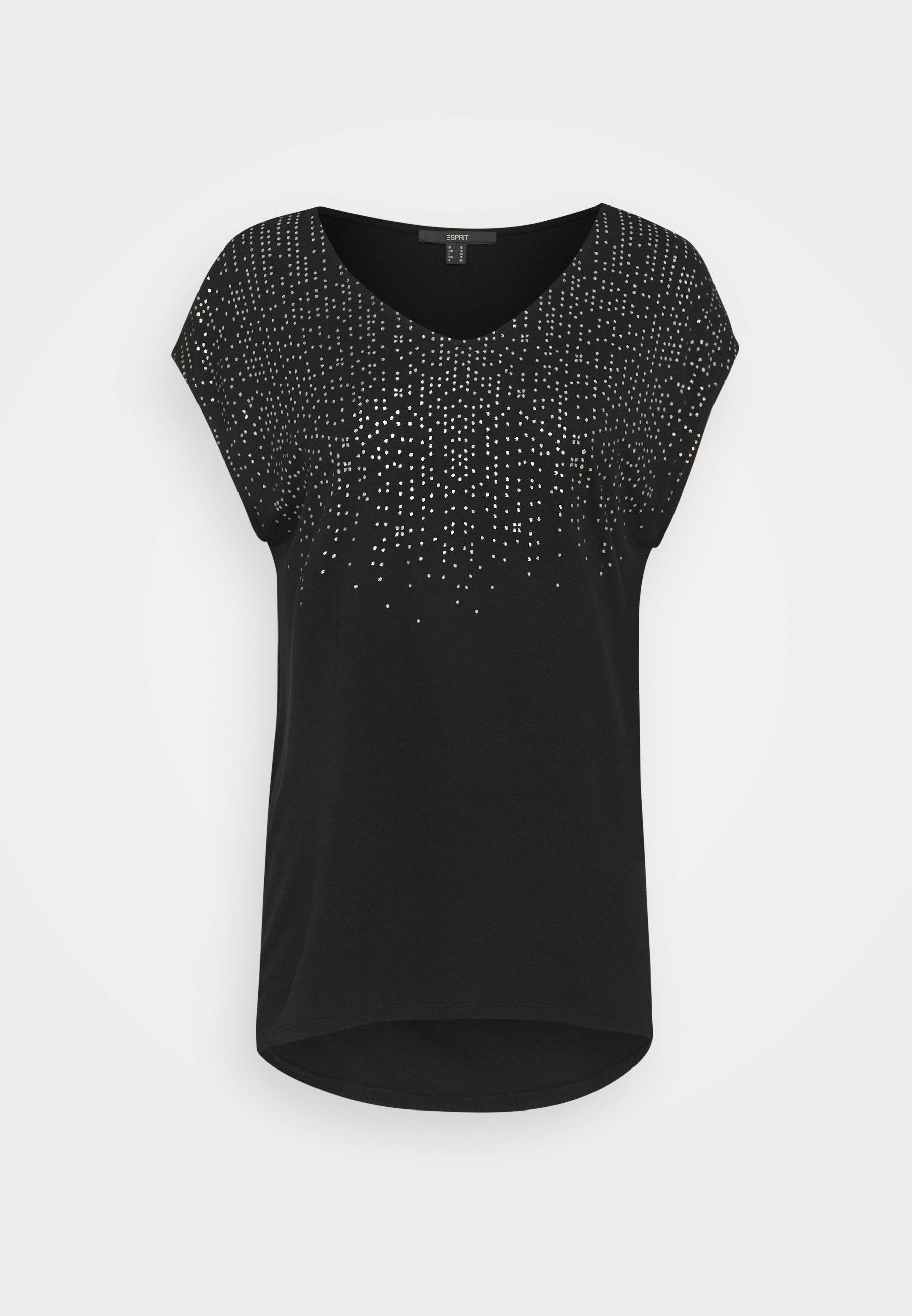 Femme FOIL TEE - T-shirt imprimé