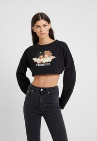 Fiorucci - VINTAGE ANGELS CROPPED  - Mikina - black - 0