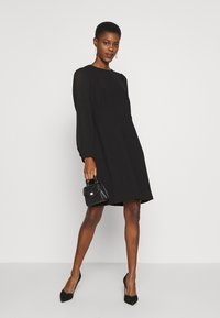 J.CREW TALL - FOGGIA DRESS - Freizeitkleid - black - 1