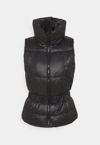 ONLY - ONLTRIXIE BELTED PUFFER WAISTCOAT  - Liivi - black - 4