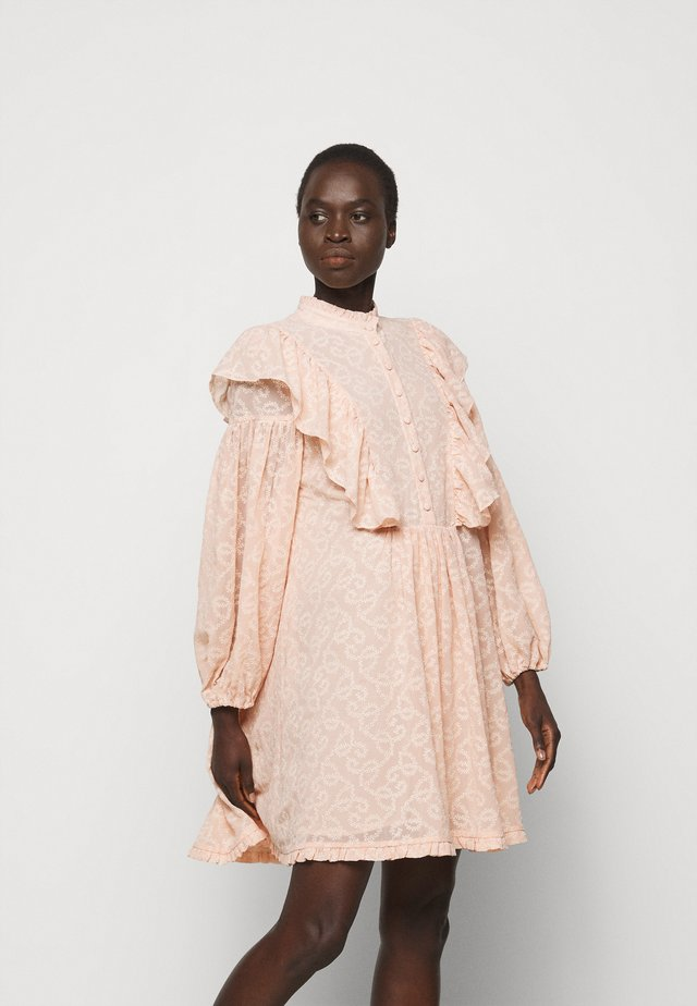 ELISE - Robe chemise - rose dust