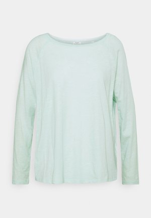 LONG SLEEVE RAGLAN SLEEVE RELAXED FIT - Long sleeved top - blue glow