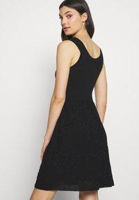 M Missoni - SLEEVES DRESS - Jumper dress - black - 4