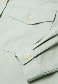 Mango - Button-down blouse - groen - 6