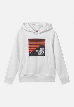 BOX HOODIE UNISEX - Sweater - white