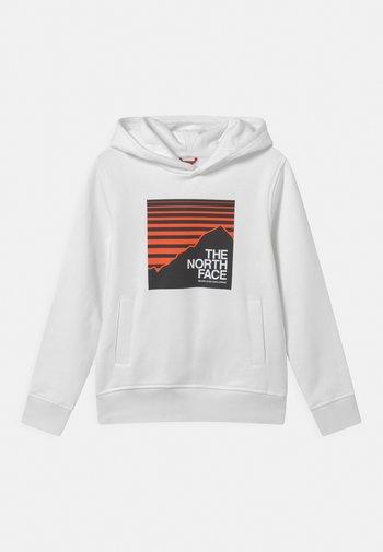 BOX HOODIE UNISEX - Sweatshirt - white