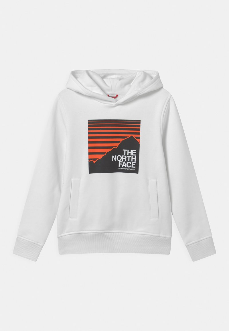 The North Face - BOX HOODIE UNISEX - Hoodie - white