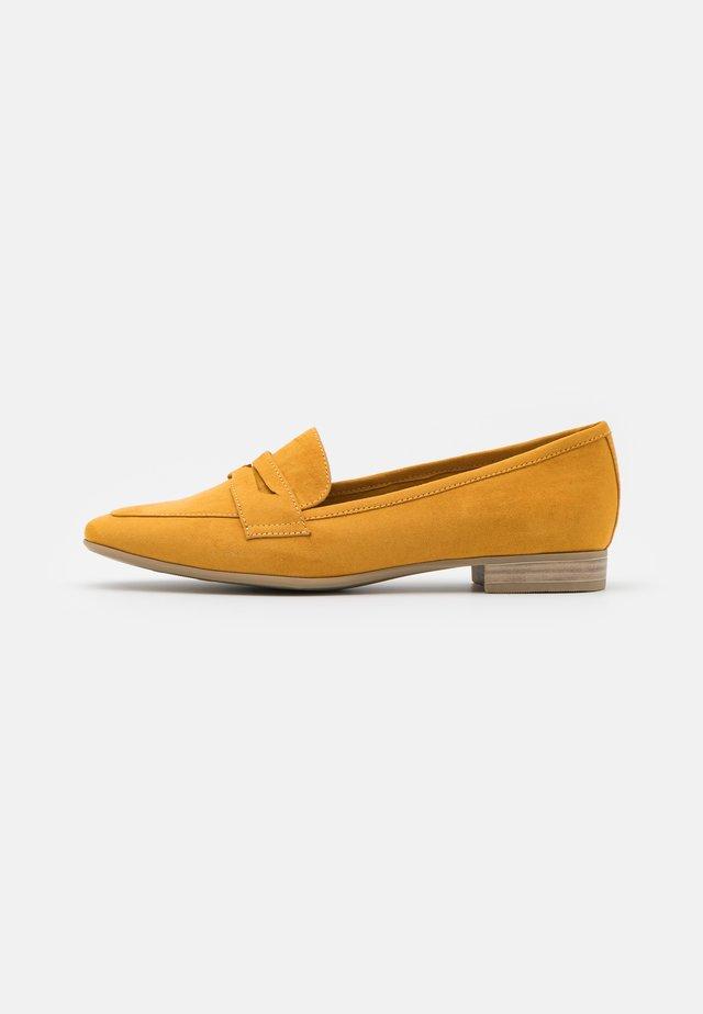 Nazouvací boty - saffron