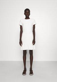 HUGO - KILANAS CLOQUE - Day dress - natural - 1