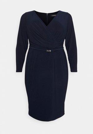 ALEXIE LONG SLEEVE DAY DRESS - Obleka iz džersija - lighthouse navy