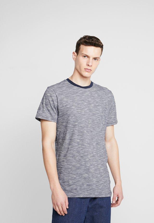 THE ORGANIC SPORTY TEE - T-shirt basique - navy blazer