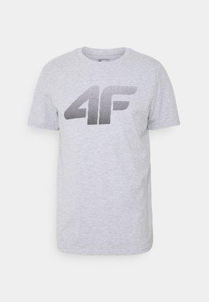 HERREN FLEMMING - Print T-shirt - grey