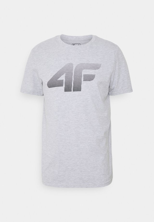 HERREN FLEMMING - T-shirt imprimé - grey