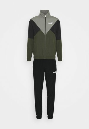 RETRO TRACKSUIT - Chándal - forest night