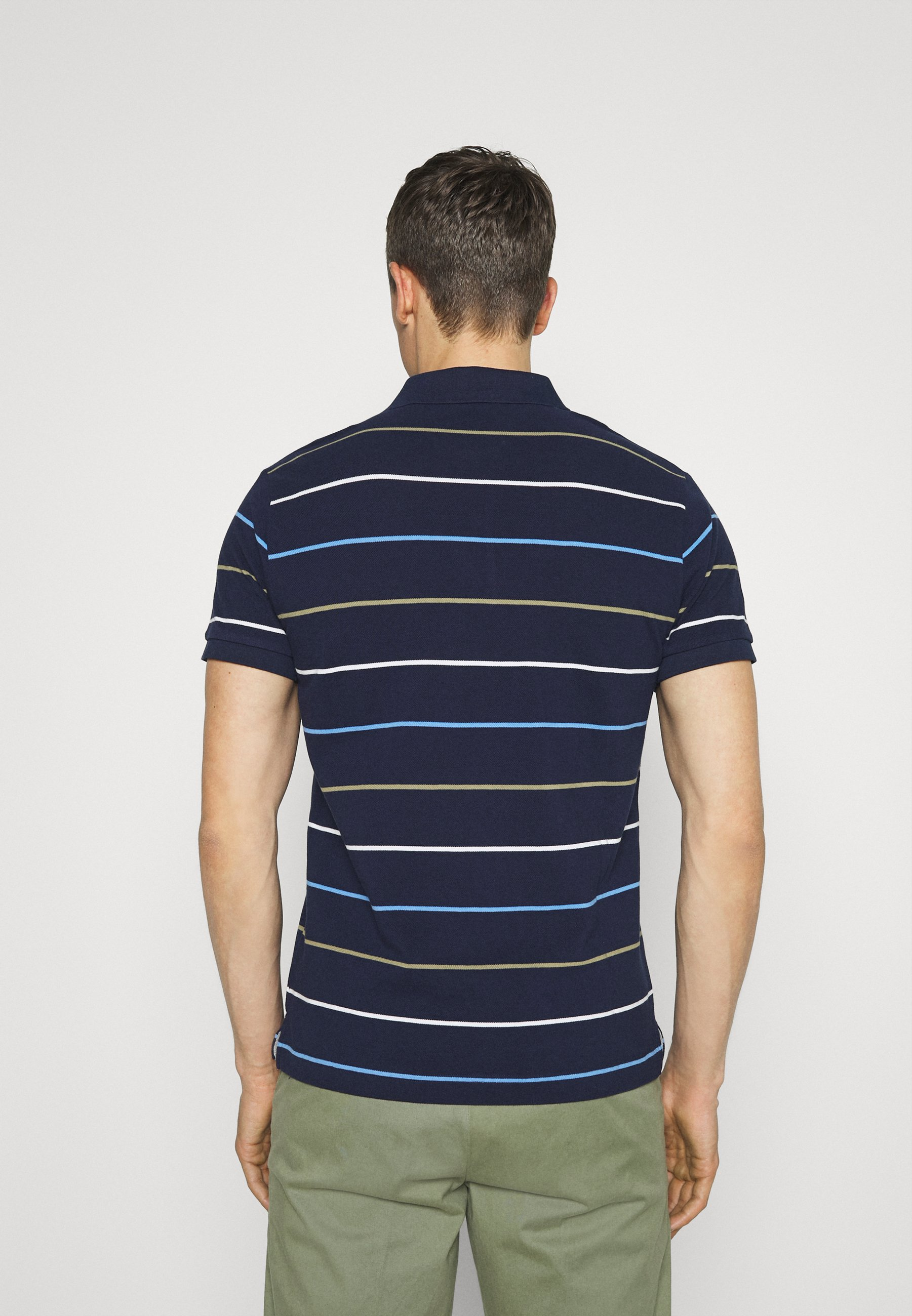 Men BRETON STRIPE RUGGER - Polo shirt
