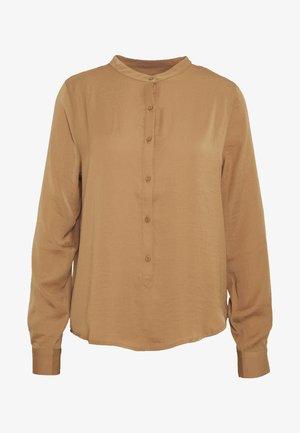 LUELLA SEASONAL - Button-down blouse - tobacco brown
