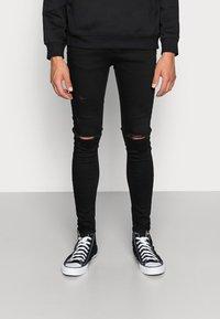 Gym King - DISTRESSED  - Jeans Skinny Fit - black - 0