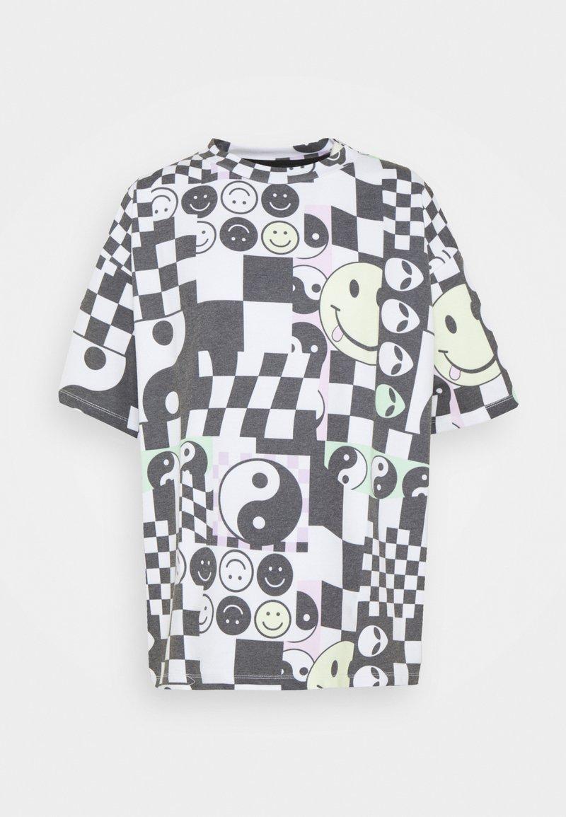 NEW girl ORDER - MISH MASH TEE - Print T-shirt - multi