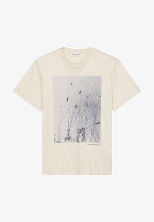 Print T-shirt - chalky sand