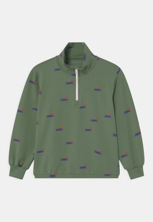 DOGGY PADDLE HALF ZIP UNISEX - Sweatshirt - khaki