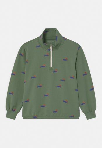 DOGGY PADDLE HALF ZIP UNISEX - Sweatshirt - khaki