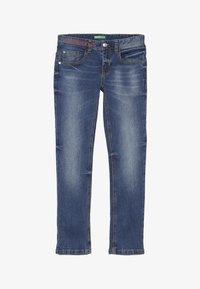 Benetton - TROUSERS - Slim fit jeans - blue - 3