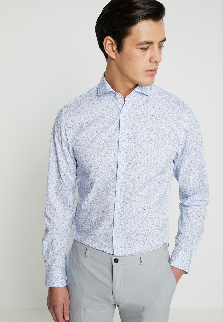 Selected Homme - SLHREGSEL HART - Shirt - white/blue