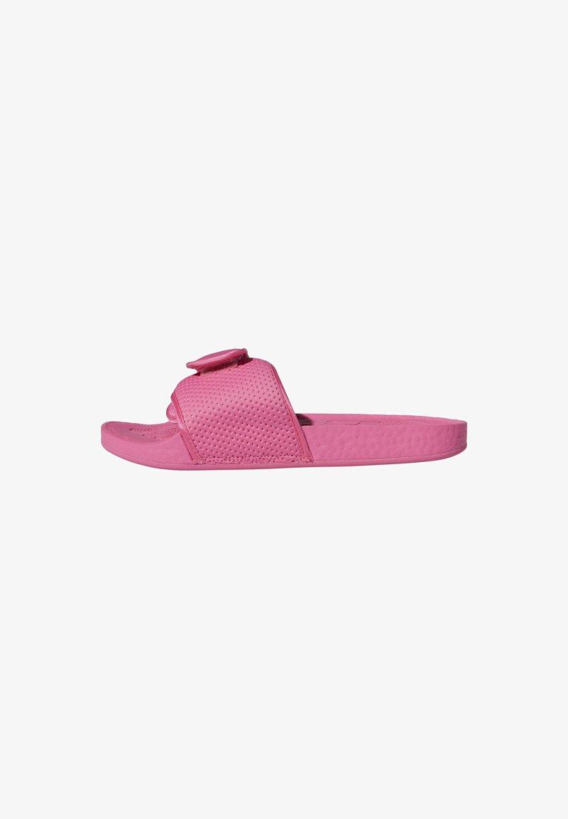 adidas Originals - ADIDAS ORIGINALS  X PHARRELL WILLIAMS BOOST SLIDES - Pool slides -  pink