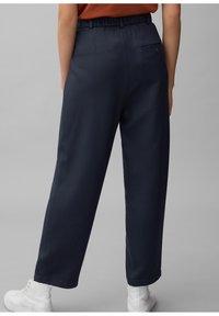 Marc O'Polo DENIM - PAPERBAG - Trousers - scandinavian blue - 2