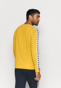 Kappa - HAIMO LONGSLEEVE - Pitkähihainen paita - ceylon yellow - 2