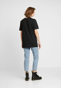 Nly by Nelly - OVERSIZE TEE - Basic T-shirt - black - 2