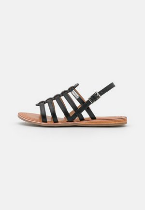 HAVAPO - Sandaalit nilkkaremmillä - noir