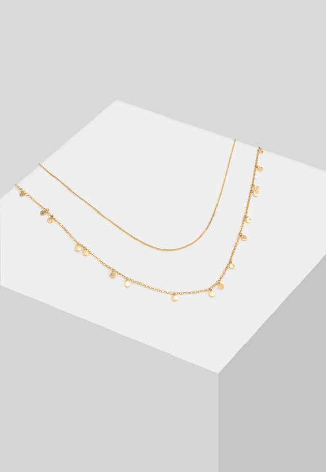 LAYERLOOK - Necklace - gold
