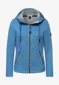 Cecil - Zip-up hoodie - blau - 3