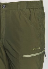 Icepeak - BECKLEY 2-IN-1 - Friluftsbyxor - dark olive - 6